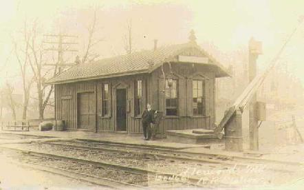 [ Old B&O Railroad Station in Derwood ]